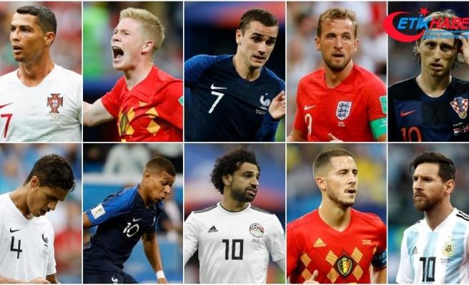FIFA yılın futbolcusu adaylarını açıkladı