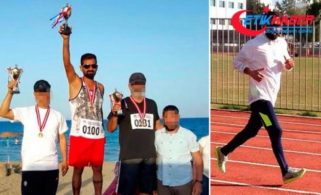 Firari katil zanlısı Kıbrıs'ta maraton koşusunda şampiyon olmuş