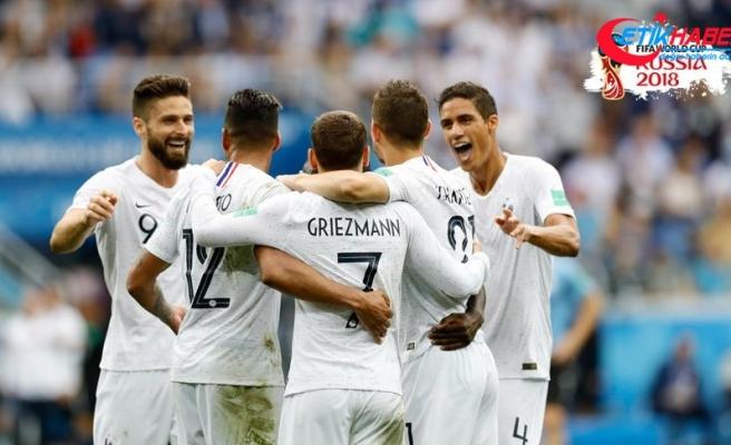 Fransa yarı finale yükselen ilk takım oldu