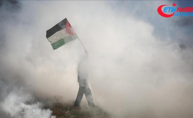 Gazze'deki gösterilerde yaralanan 1 Filistinli şehit oldu