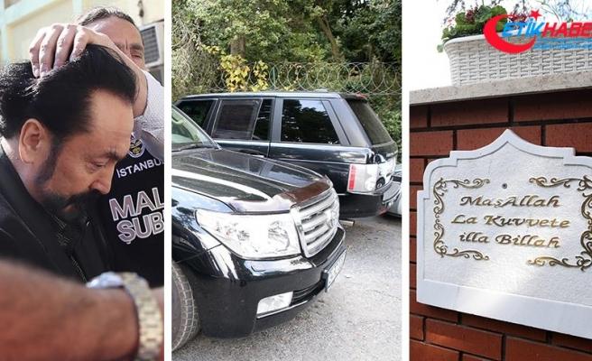 Gözaltındaki Adnan Oktar'ın mal varlığına el konuldu