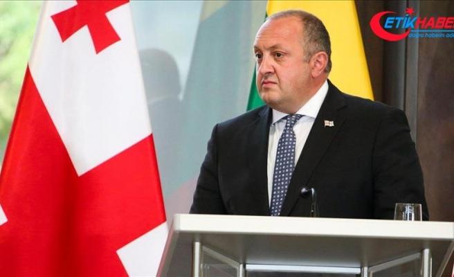 Gürcistan Cumhurbaşkanı Margvelaşvili'den Putin'e tepki