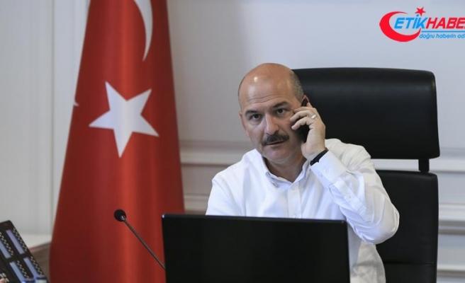 İçişleri Bakanı Soylu'dan Yusuf Topal'ın ailesine başsağlığı telefonu