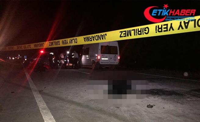 İki motosiklet kafa kafaya çarpıştı: 2'si yanarak 3 kişi öldü