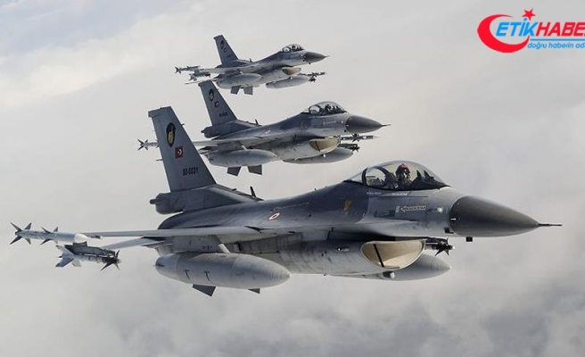 Irak'ın kuzeyinde 28 hedef imha edildi
