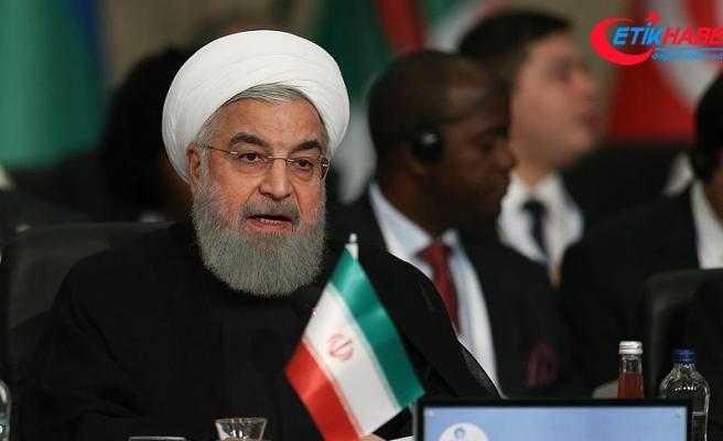 İran Cumhurbaşkanı Ruhani'den 'ABD izole edildi' açıklaması