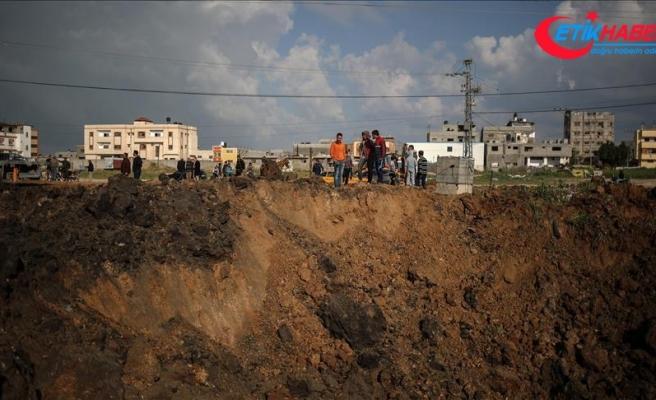 İsrail Gazze'deki tarım arazilerini hedef aldı