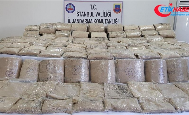 İstanbul'da 172 kilogram eroin yakalandı