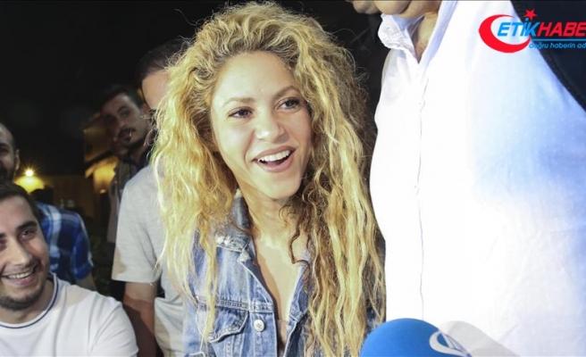 İstanbul'da Shakira trafiği