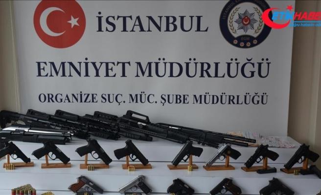İstanbul'daki organize suç örgütlerine operasyon