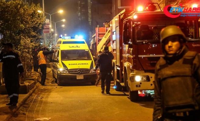 Kahire Havalimanı yakınlarında çıkan yangın kontrol altına alındı