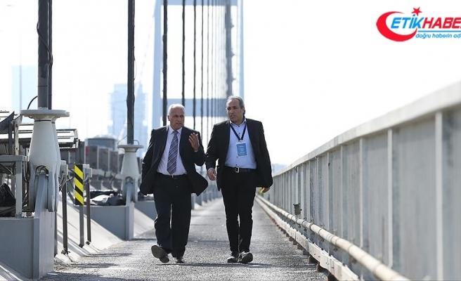 Köprüde 645 hayat kurtardılar