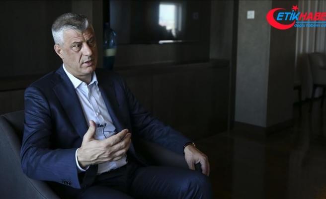 Kosova Cumhurbaşkanı Taçi: Katılımımız stratejik ilişkilerimizin onayı niteliğindeydi