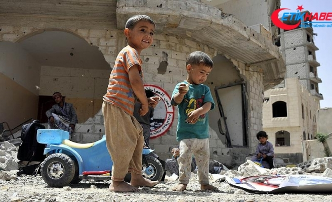 Kuveyt Yemenli çocuklar için 59 milyon dolarlık yardımda bulunacak
