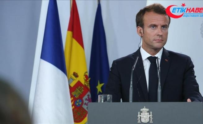 Macron ABD'yle ticaret anlaşmasına sıcak bakmıyor