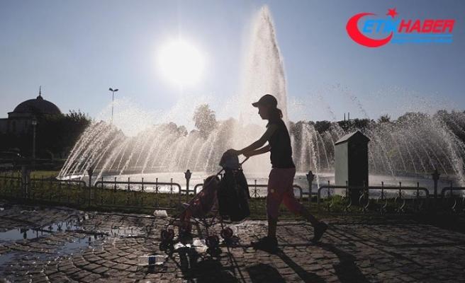 Marmara'da sıcaklık yükseliyor