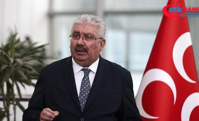 MHP'li Yalçın: CHP sözcüleri siyaseten ebter, fikren güdük, insani olarak da bitik, hatta yitik durumdadır