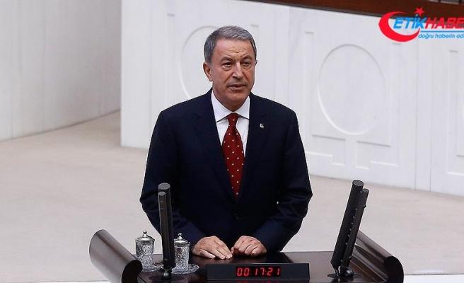 Milli Savunma Bakanı Akar: Ülkemizin birliği için elimizden gelen gayreti göstereceğiz