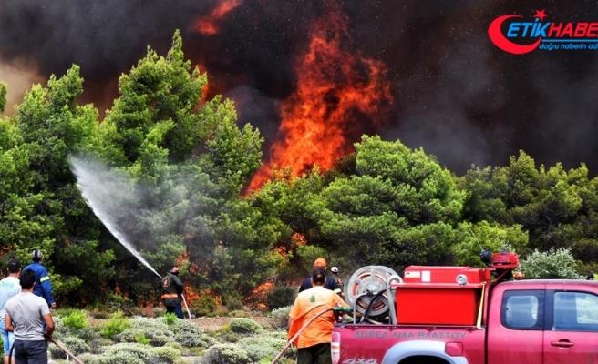 Orman yangını Yunanistan tarihinin en büyük felaketlerinden biri