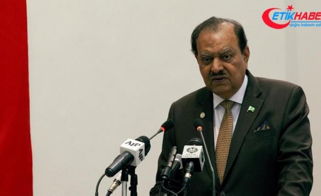 Pakistan Cumhurbaşkanı Hüseyin: İlişkimiz ortak miras ve ortak kültüre dayanıyor