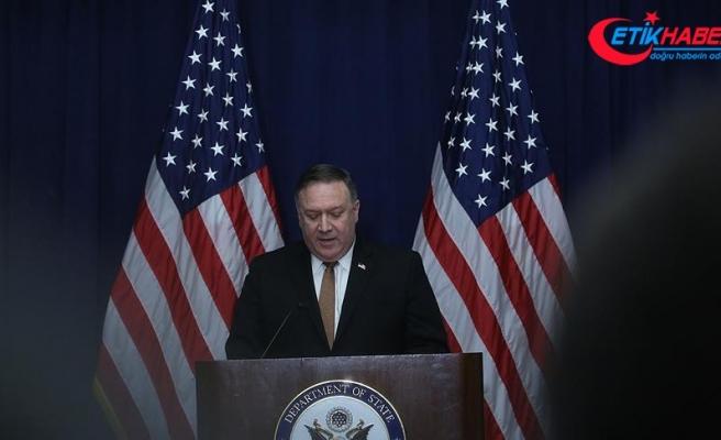 Pompeo'dan İran liderlerine 'mafya' benzetmesi
