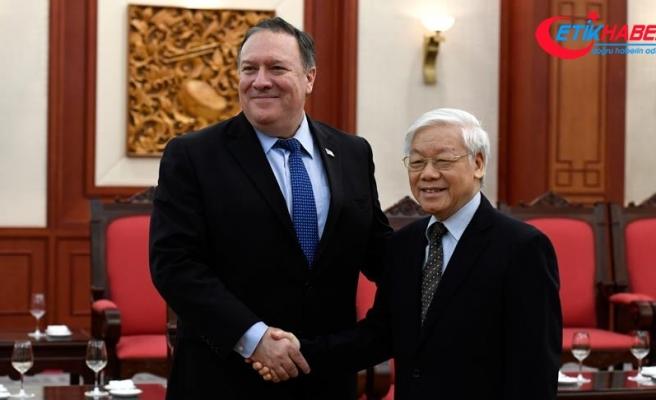Pompeo, Kuzey Kore'ye Vietnam'ı örnek gösterdi