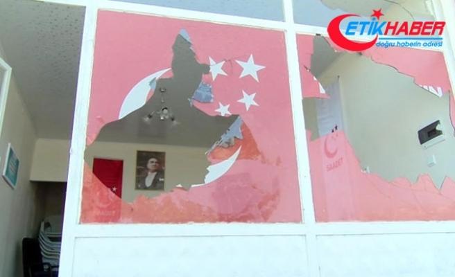 Saadet Partisi'nin camlarının kırılması olayında yeni gelişme