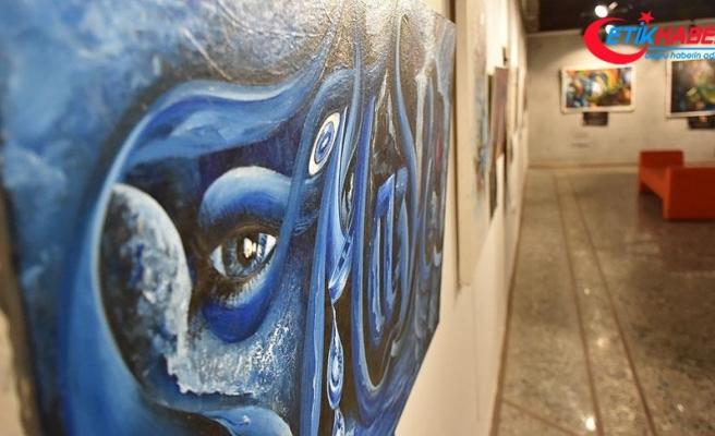 'Sanatçı polis'ten 28 sergi