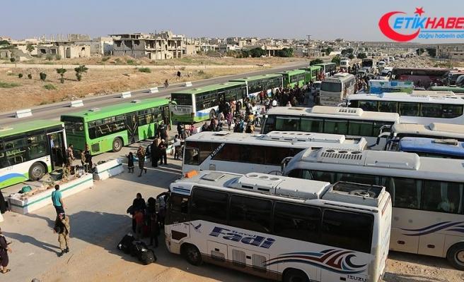 Suriye'nin güneyinden zorunlu tahliyeler sürüyor