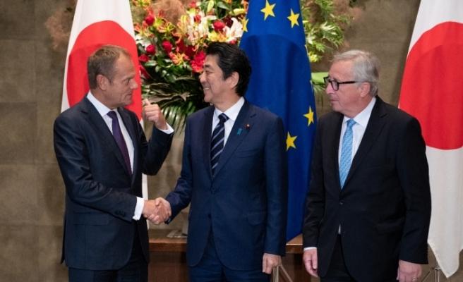Avrupa Birliği (AB) ve Japonya arasında tarihi anlaşma imzalandı