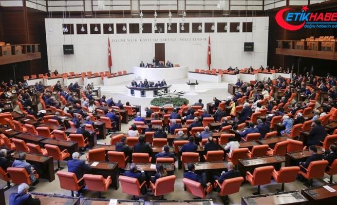 TBMM Genel Kurulunda AK Parti'nin grup önerisi kabul edildi