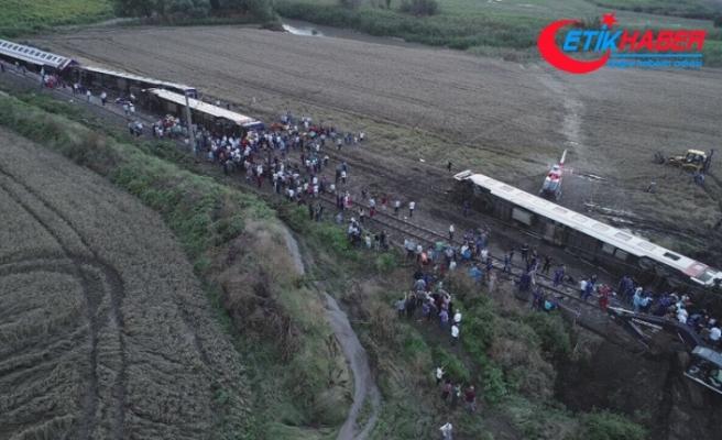Tekirdağ'da tren kazası: 24 ölü, 318 yaralı