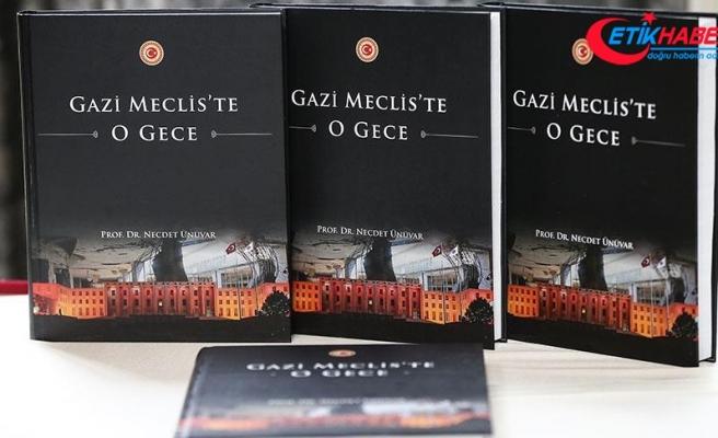 "TİKA'dan 9 dilde ""Gazi Meclis'te O Gece"" kitabı"