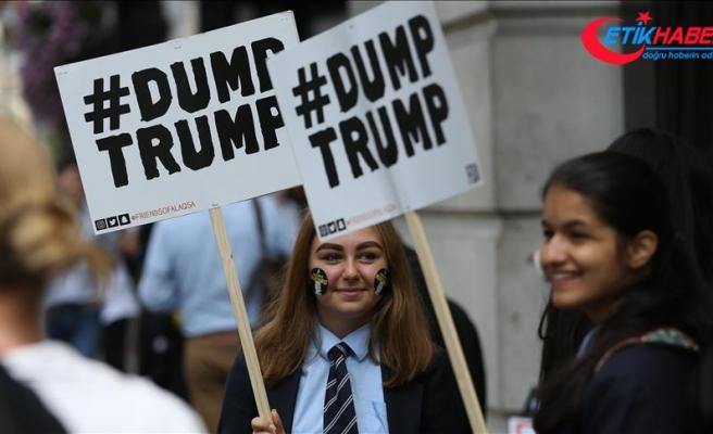 Trump'ın İngiltere ziyaretine tepkiler sürüyor
