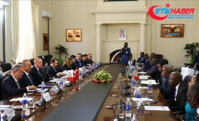 Türkiye-Zambiya arasında 12 anlaşma imzalandı