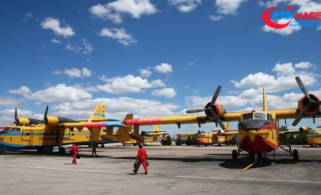 'Yangın söndürme uçakları Yunanistan'a yardım için bekliyor'