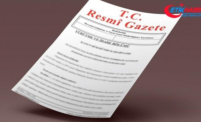 Yeni uyum kararnamesi ile bazı bakanlıkların teşkilat yasaları lağvedildi