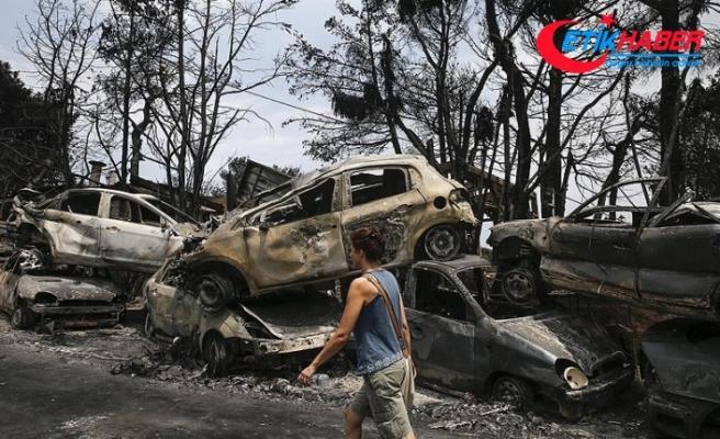 Yunanistan'daki yangın faciasının sebebi belli oldu