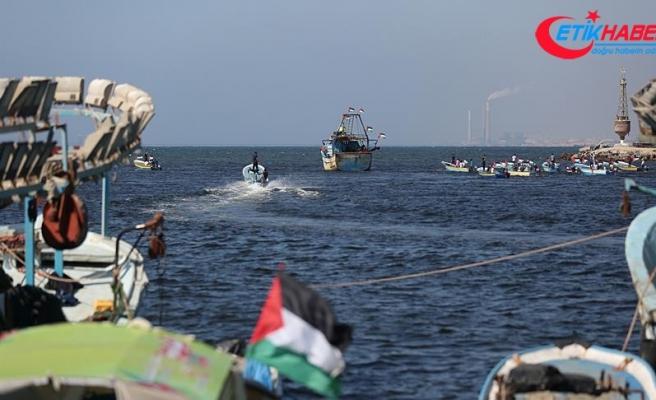 3. Özgürlük gemisi Gazze'den hareket etti