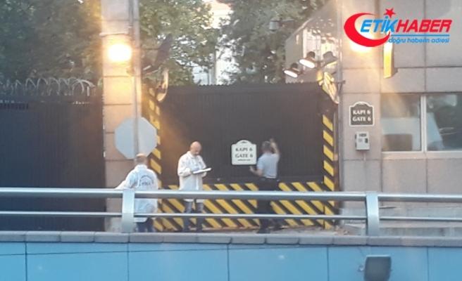 ABD Büyükelçiliği'ne seyir halindeki araçtan ateş açıldı