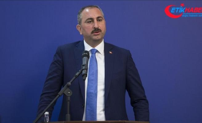 Adalet Bakanı Gül: Yargıda hedef süre 1 Ocak'ta uygulamaya geçecek