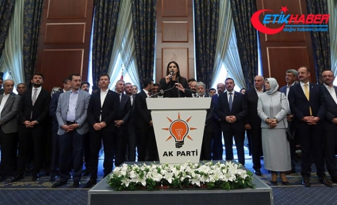 AKP'li Sarıeroğlu: Türkiye olarak bizi yolumuzdan alıkoyamayacaklar