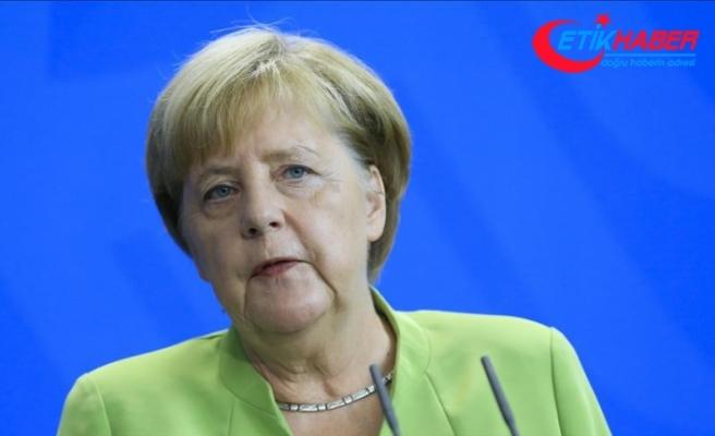 Angela Merkel: Türkiye ekonomisinin güçlü olması Almanya için önemli