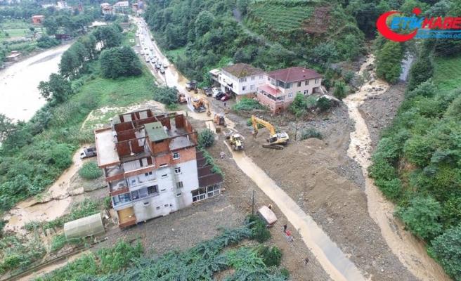 Ardeşen-Çamlıhemşin karayolu yeniden trafiğe açıldı