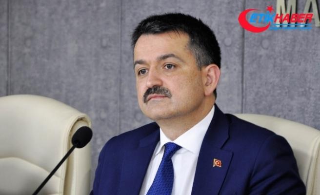 """Bakan Pakdemirli'den """"şarbon"""" açıklaması"""