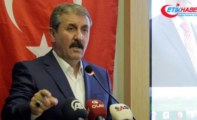BBP Genel Başkanı Destici: İdam cezası teklifimizi ekim ayında Meclise sunacağız