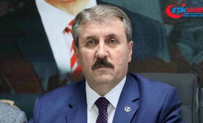 BBP Genel Başkanı Destici: İdamla ilgili teklifimizi Meclise getireceğiz