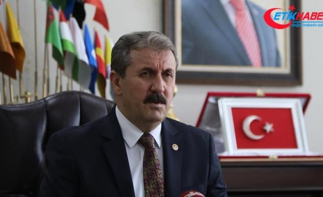 BBP Genel Başkanı Destici: Kurşunlar aslında Türkiye'nin istikrarını hedef almıştır