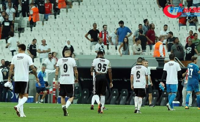 Beşiktaş'ın sahasındaki yenilmezlik serisi sona erdi