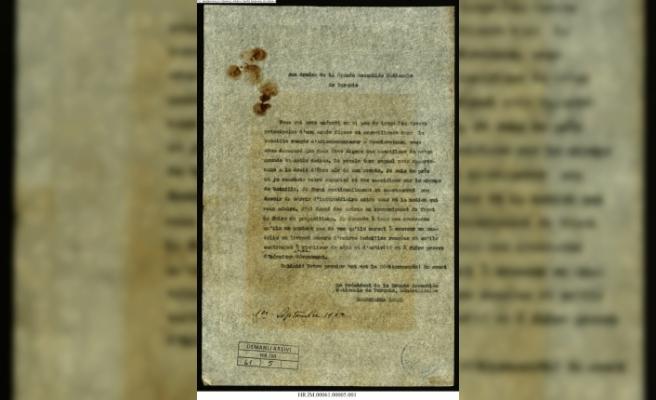 Büyük Zafer tarihi belgelerde